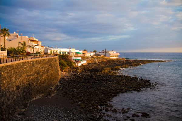 La Caleta from the other side