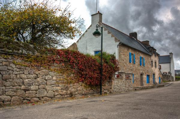 brittany france cottage hdr