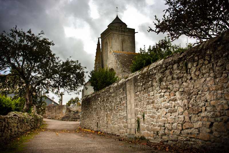 church saint-tugen france primelin brittany