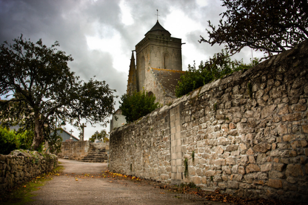 church saint-tugen france primelin brittany