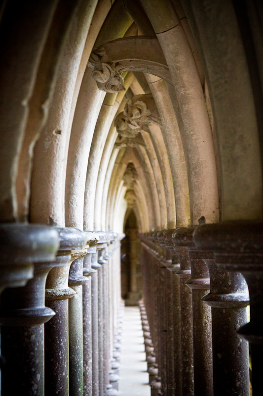Down the Cloisters