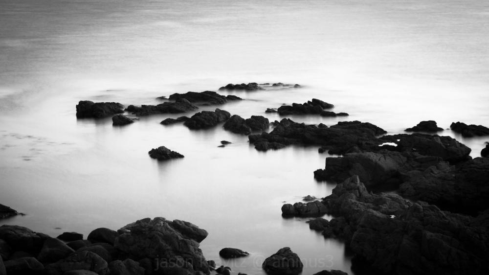 slow motion sea