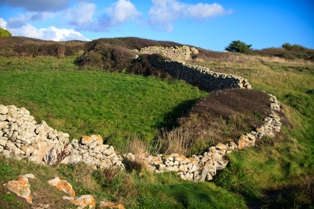 stone wall Brittany