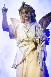oakland cemetery angel