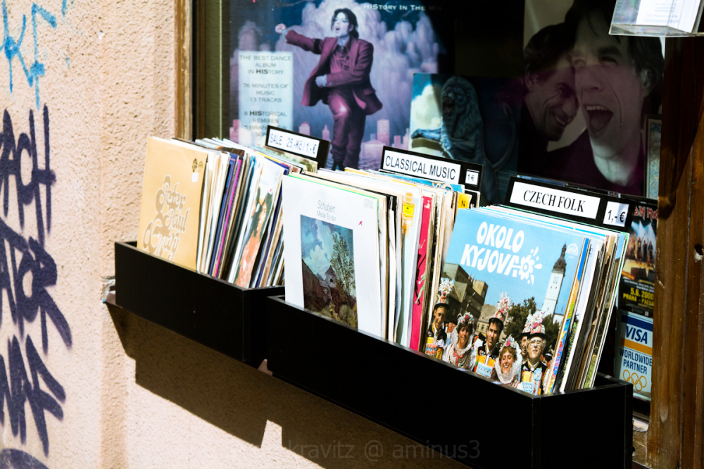 prague record shop