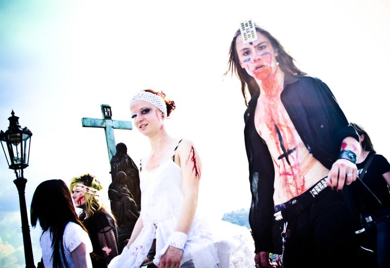 prague zombie walk 2011