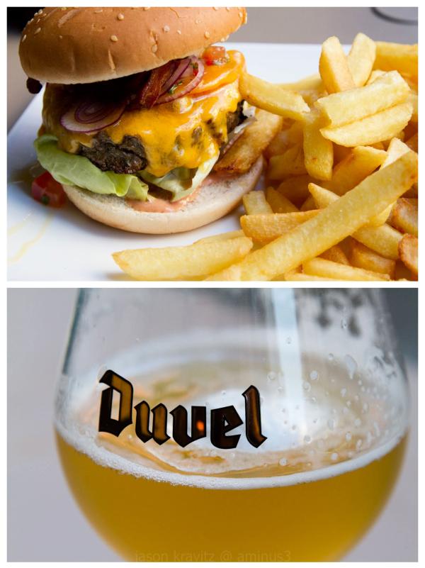 Burger   Belgian Style