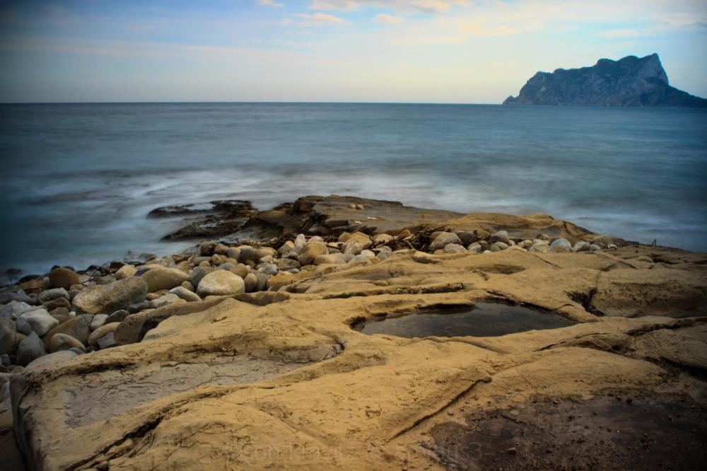 spain sea rock
