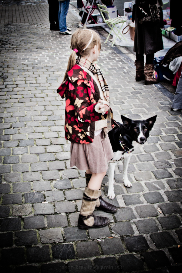 street dog girl
