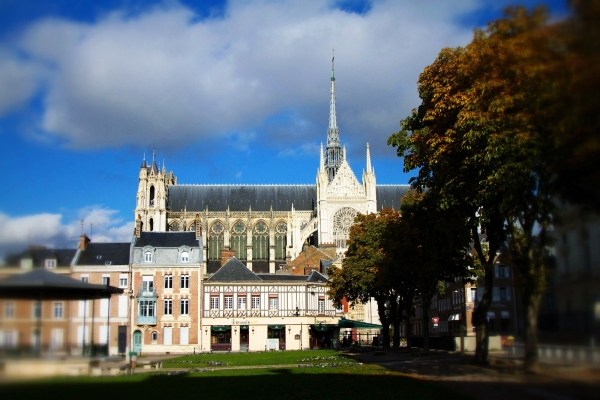 Amiens in Autumn