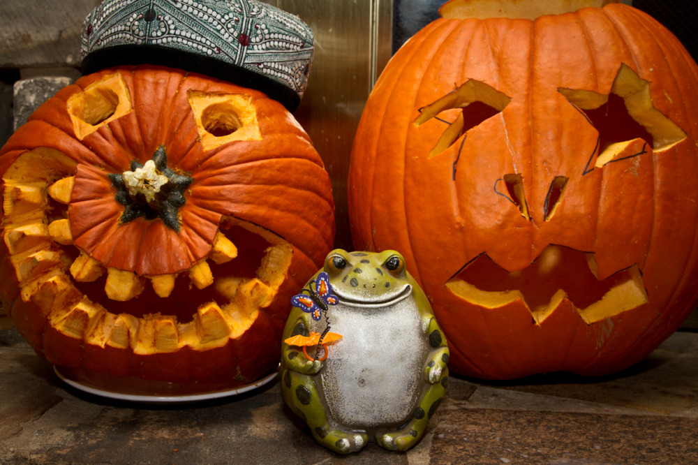 Toad vs. Pumpkin