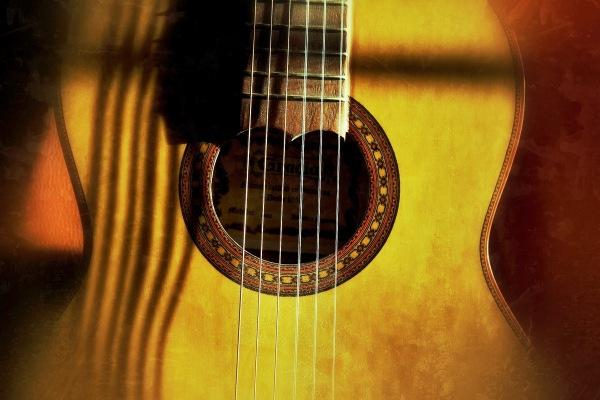 Snapseed guitar