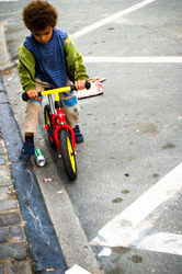 biker kid