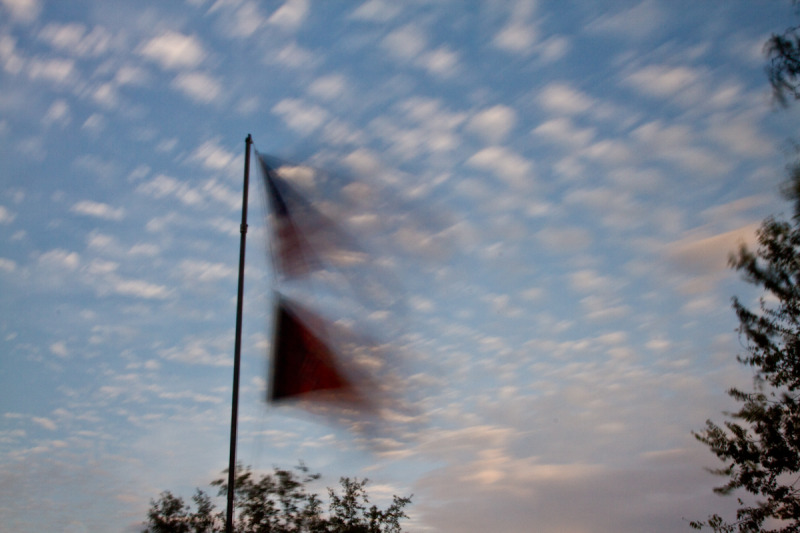 The Blurring of the Flag