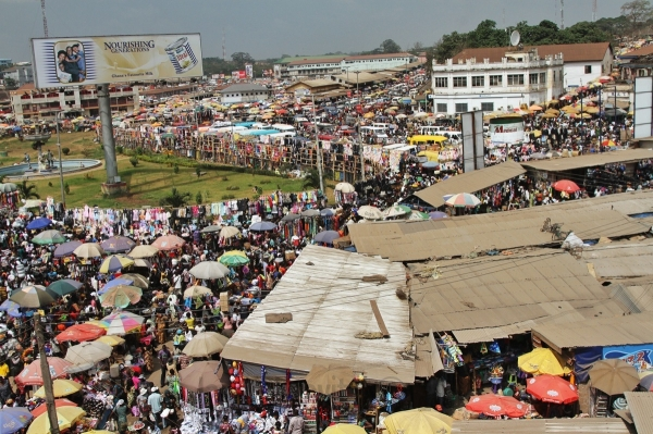 Christmas Shopping in Kumasi