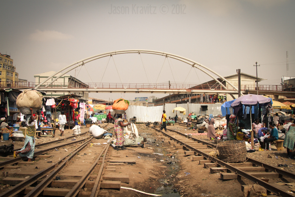Arches of the Kumasi Market