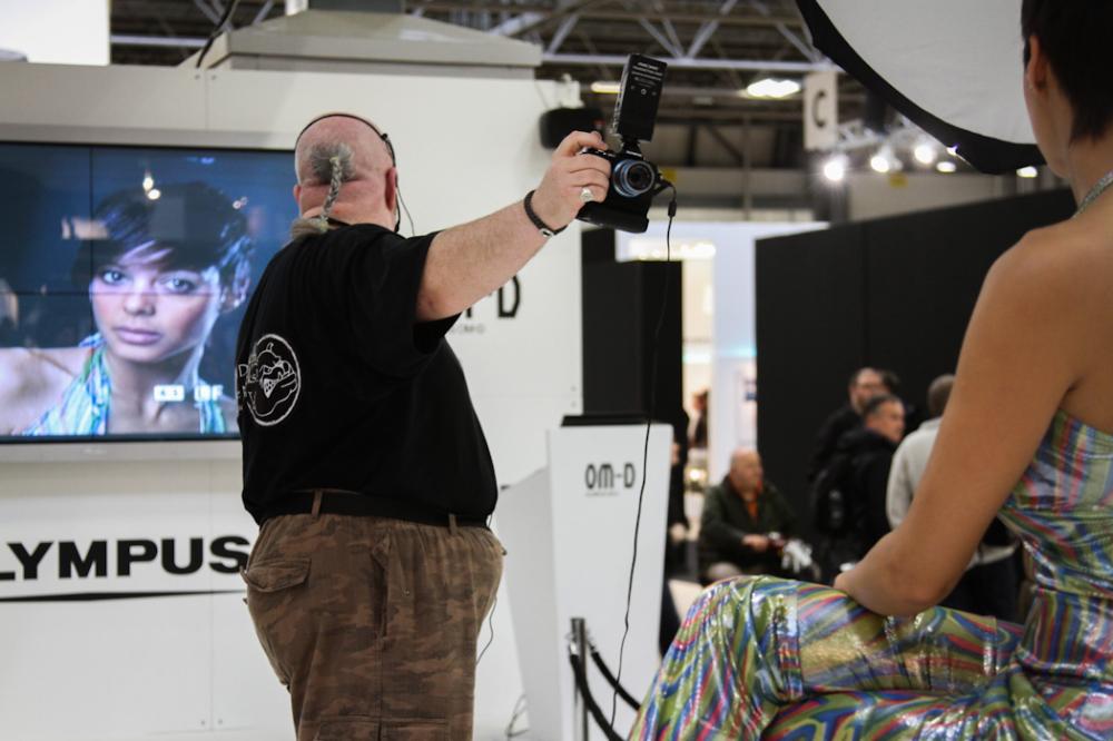 Olympus OM-D at focus on imaging