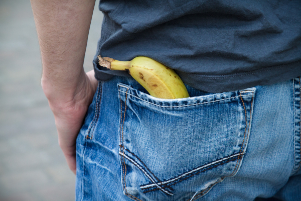 Is that a Banana in your Pocket ?