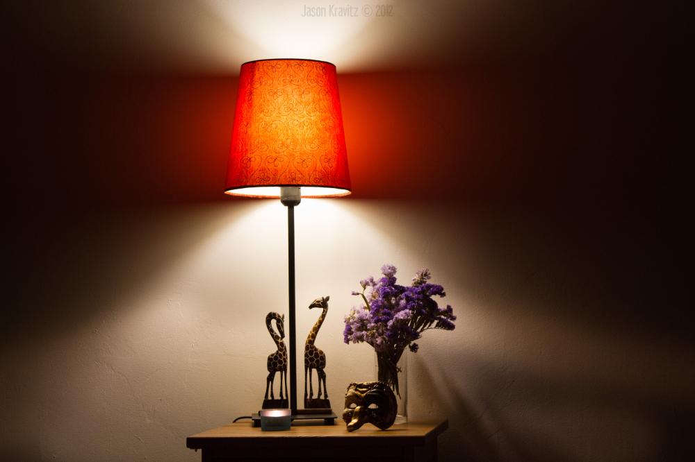 still life lamp