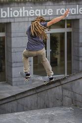 skater in brussels