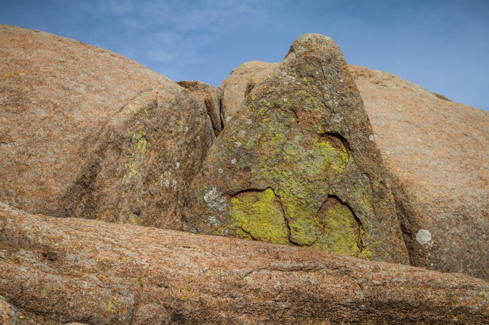 face in rock