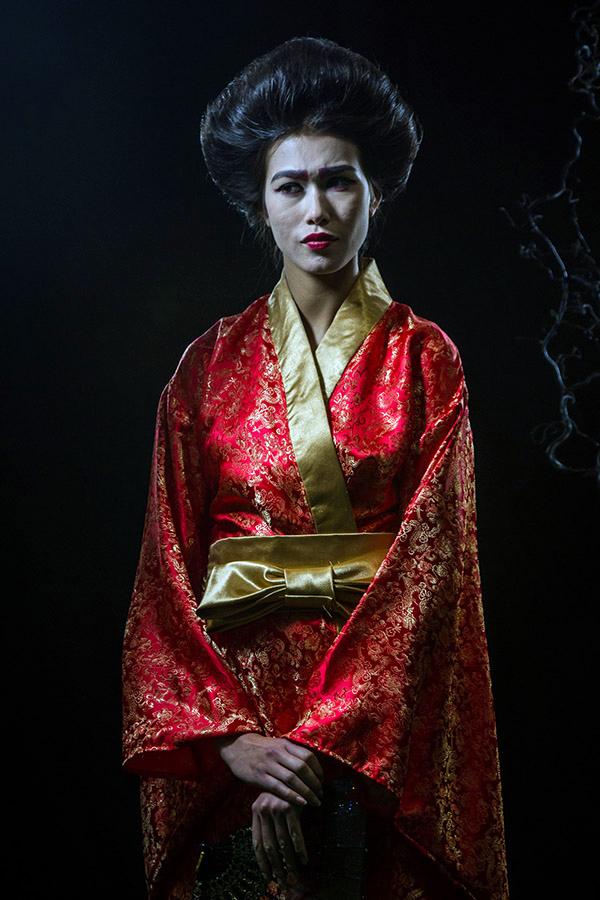 pensive geisha