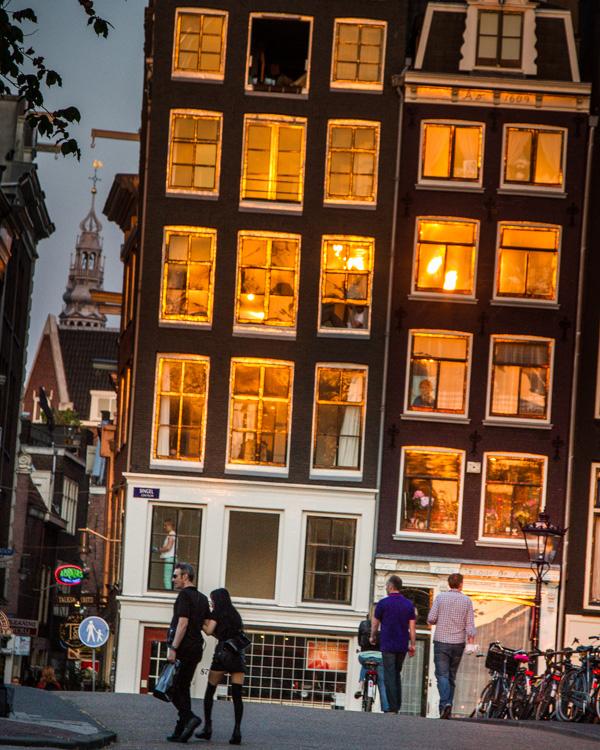 Amsterdam upside down