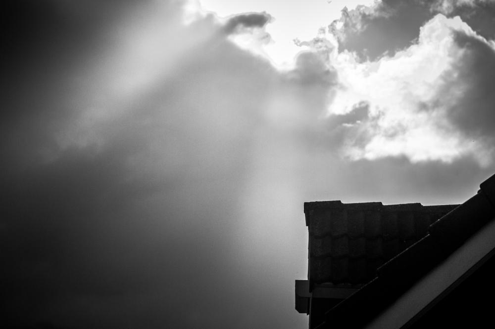cloud burst window house