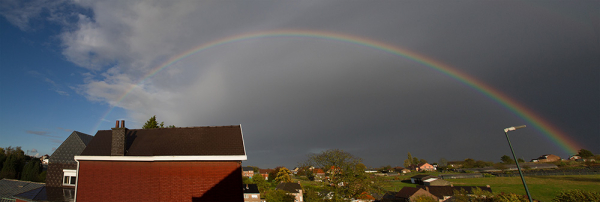 rainbow in belgium