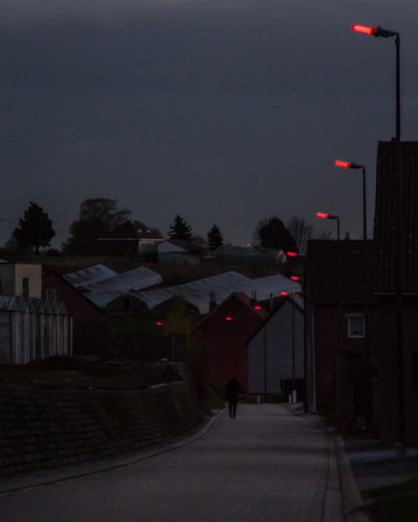 street light street