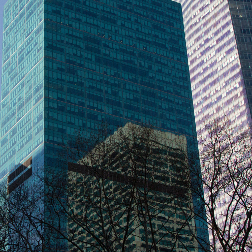 reflection building