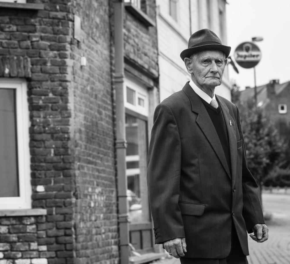 street portrait Belgium