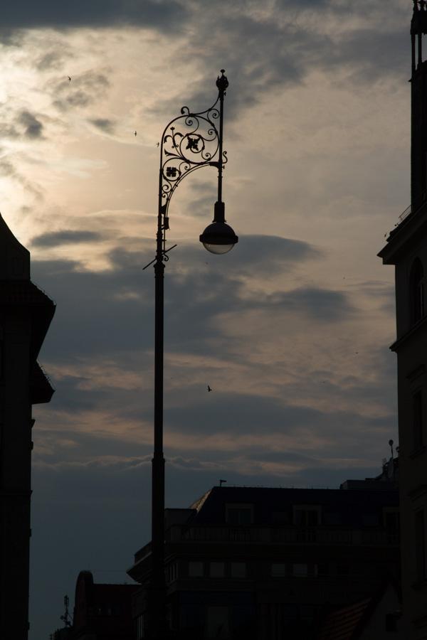 wroclaw streetlamp