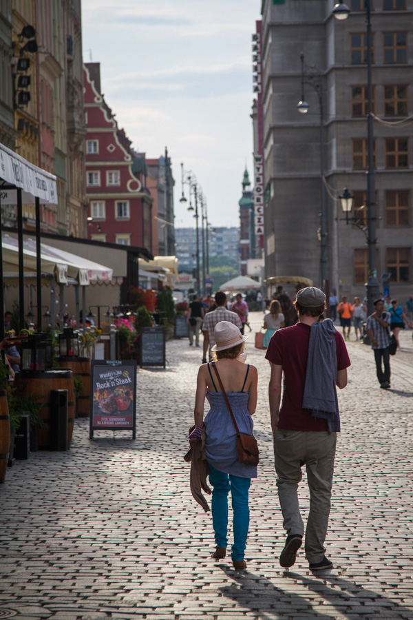 summertime in Wroclaw