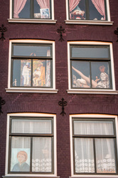 Amsterdam house windows