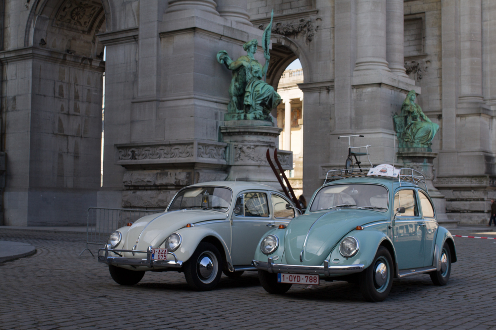 Brussels Love Bugs Parade