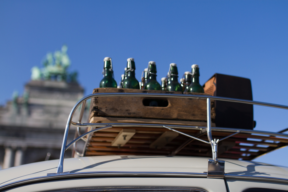 cinquantenaire and volkswagen