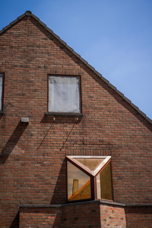 window box reflection