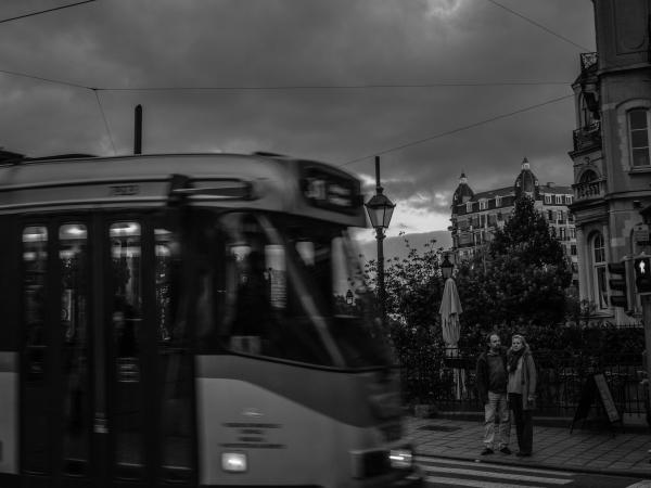 tram spotters