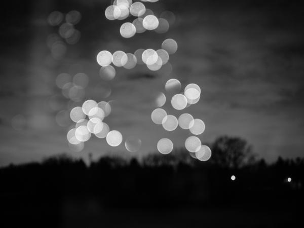 blur night bokeh
