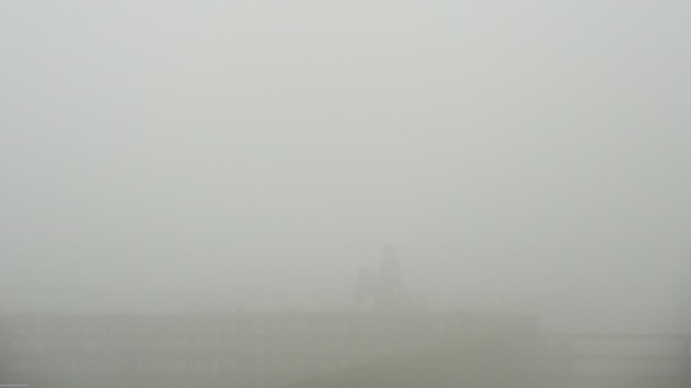 rider in the mist