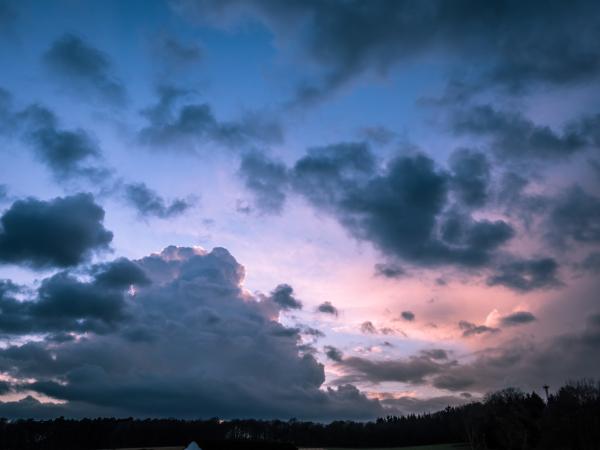 cloud bursts