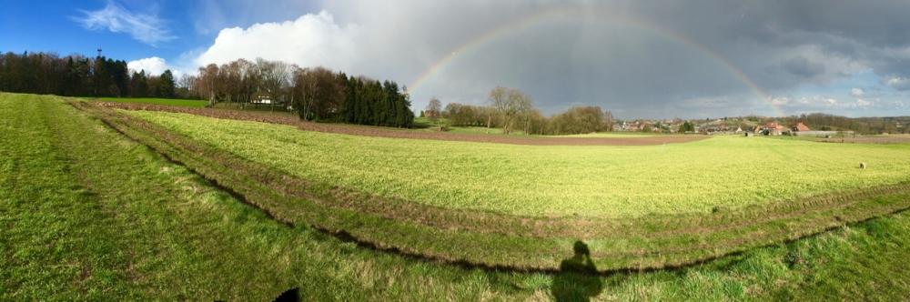 easter rainbow brussels