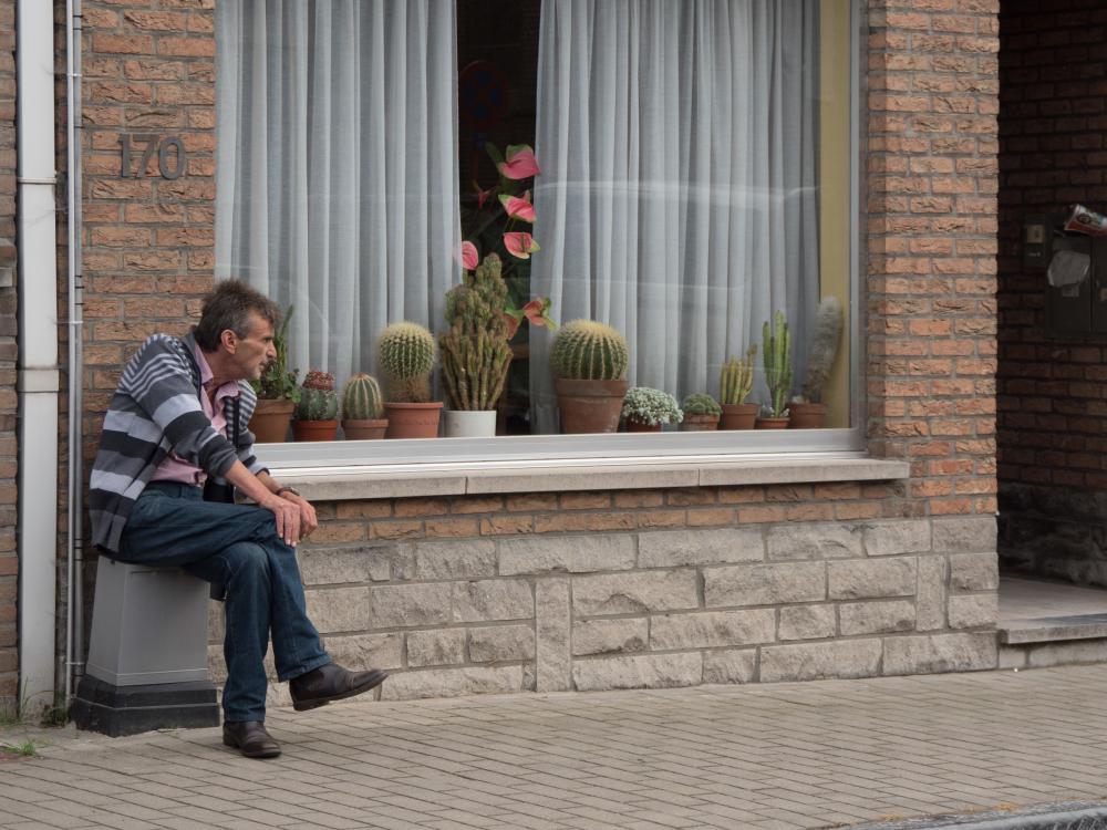 Belgium village life