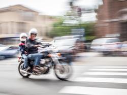 panning motocycle