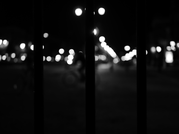 brussels night bokeh