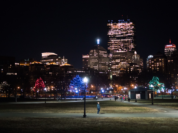 boston commons christmas