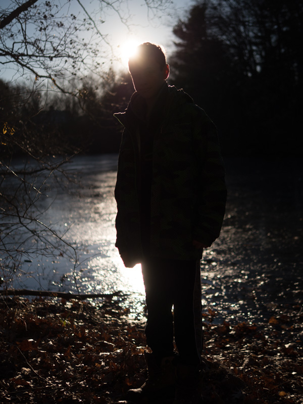 boy backlight