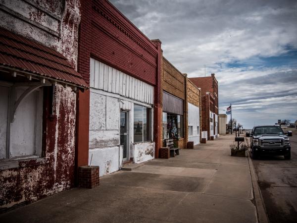 abandoned town oklahoma