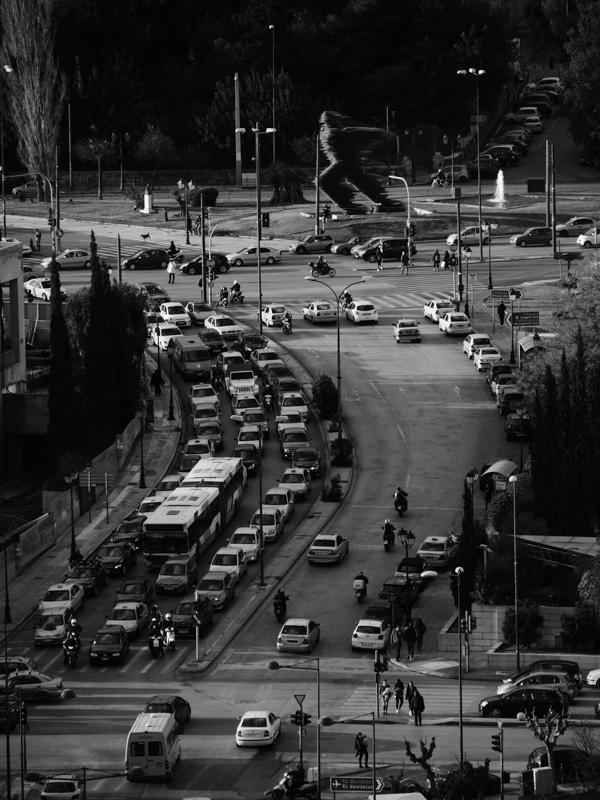 athens traffic